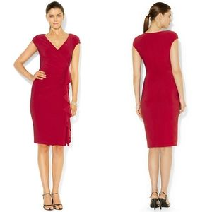 NEW American Living Ruffled Red Dress *PRICE FIRM*
